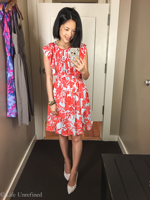 Nursing friendly dresses for a wedding at banana republic for Banana republic wedding dresses
