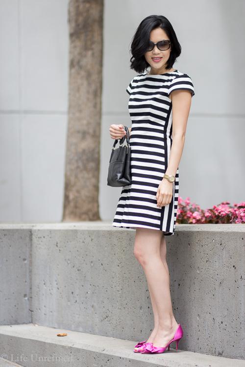 Striped Zara dress