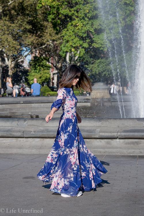 floral maxi dress-2
